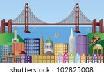 américa,bahía,puente,edificios,entidad emisora de certificados,coche,ciudad,paisaje urbano,centro,dragón,dibujo,puerta,oro,hall,colina