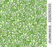seamless pattern with bushy... | Shutterstock .eps vector #1028250220