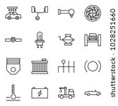 flat vector icon set   car wash ... | Shutterstock .eps vector #1028251660
