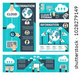 infographic vector about cloud... | Shutterstock .eps vector #1028279149