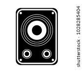 audio speakers icon   Shutterstock .eps vector #1028285404