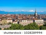 panorama of turin skyline | Shutterstock . vector #1028289994