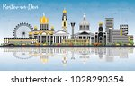 rostov on don russia city... | Shutterstock .eps vector #1028290354