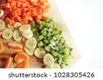 fresh fruits which high... | Shutterstock . vector #1028305426
