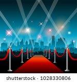 hollywood movie film fetival... | Shutterstock .eps vector #1028330806