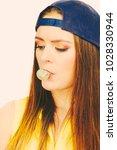 fun entertainment with bubble.... | Shutterstock . vector #1028330944