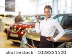 african american woman with her ... | Shutterstock . vector #1028331520