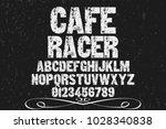 vintage font typeface... | Shutterstock .eps vector #1028340838