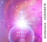 space galaxy background with... | Shutterstock .eps vector #1028348578