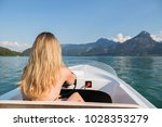 close up view from behind of a... | Shutterstock . vector #1028353279