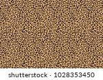 leopard beige brown fur texture.... | Shutterstock .eps vector #1028353450