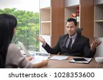 businessman boss leader... | Shutterstock . vector #1028353600