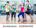 sportsmen and sportswomen...   Shutterstock . vector #1028364430