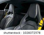 modern luxury sport car inside. ...   Shutterstock . vector #1028372578
