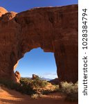 a large arched rock formation