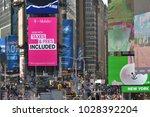 new york city   aug. 24 ... | Shutterstock . vector #1028392204