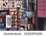 new york city   aug. 24 ... | Shutterstock . vector #1028395600
