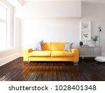 idea of a white scandinavian... | Shutterstock . vector #1028401348