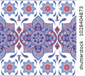 floral indian paisley pattern... | Shutterstock .eps vector #1028404873