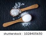 different types of salt. sea... | Shutterstock . vector #1028405650