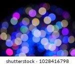 abstract blurry bokeh... | Shutterstock . vector #1028416798