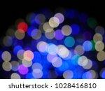 abstract blurry bokeh... | Shutterstock . vector #1028416810