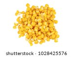 corn isolated on the white...   Shutterstock . vector #1028425576
