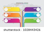 abstract  info graphic template ... | Shutterstock .eps vector #1028443426