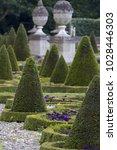 beautiful formal garden | Shutterstock . vector #1028446303