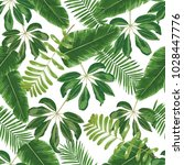 seamless vector pattern with a... | Shutterstock .eps vector #1028447776