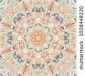 vector abstract ethnic seamless ... | Shutterstock .eps vector #1028448220