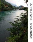 the aare at interlaken | Shutterstock . vector #1028448370