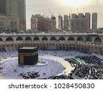 mecca  saudi arabia january 26... | Shutterstock . vector #1028450830