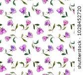 seamless floral pattern.... | Shutterstock . vector #1028452720