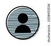 user icon vector illustration...