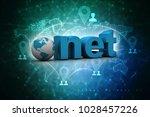 3d illustration internet... | Shutterstock . vector #1028457226