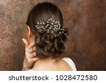 image from back of girl with...   Shutterstock . vector #1028472580