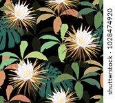 bright  stylish seamless vector ...   Shutterstock .eps vector #1028474920