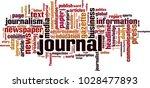 journal word cloud concept.... | Shutterstock .eps vector #1028477893