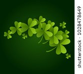 card on st. patrick's day. 3d... | Shutterstock .eps vector #1028478649