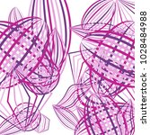 falling geometric figures.... | Shutterstock .eps vector #1028484988