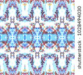 mosaic square colorful pattern... | Shutterstock . vector #1028494030