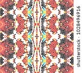 mosaic square colorful pattern... | Shutterstock . vector #1028496916