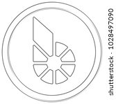 bitshares   cryptocurrency coin.... | Shutterstock .eps vector #1028497090