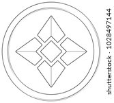 ellaism   cryptocurrency coin.... | Shutterstock .eps vector #1028497144