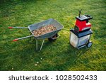 garden chipper  electric... | Shutterstock . vector #1028502433