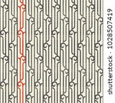 art deco seamless pattern in... | Shutterstock .eps vector #1028507419