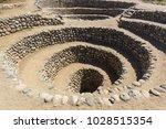 cantalloc aqueduct  nazca  peru   Shutterstock . vector #1028515354