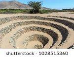 cantalloc aqueduct  nazca  peru   Shutterstock . vector #1028515360