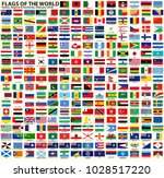 flags of the world. vector set... | Shutterstock .eps vector #1028517220